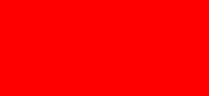 Scritta rossa Grazie corsivo sottolineato