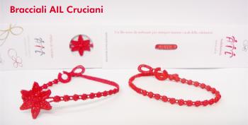 buy popular 3e40a a97d8 Braccialetti rossi a sostegno dell'Associazione Italiana ...