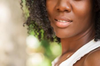 donna profilo nero