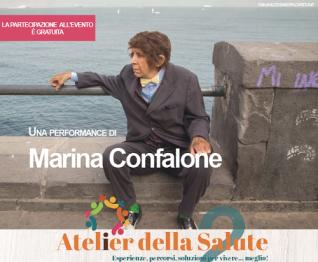 Atelier della Salute 2018 incontra il teatro: la performance di Marina Confalone