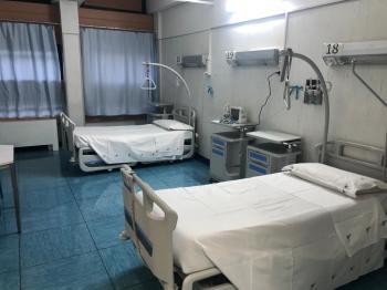 COVID-19, aperti altri 14 posti letto di medicina interna alla Federico II.  96 posti letto attivi, continuano i lavori verso quota 150