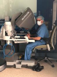 Policlinico Federico II, raro intervento al pancreas eseguito con approccio totalmente robotico
