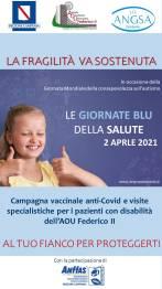 Policlinico Federico II, al via le Giornate Blu della Salute per le persone con disabilità