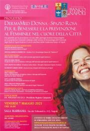 """Progetto """"DermaMed donna"""", al via lo sportello rosa della Fondazione Banco di Napoli in collaborazione con la Dermatologia del Policlinico Federico II"""