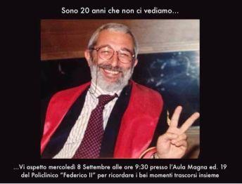 In memoria di Pietro De Fazio, il ricordo dei colleghi dell'Odontoiatria